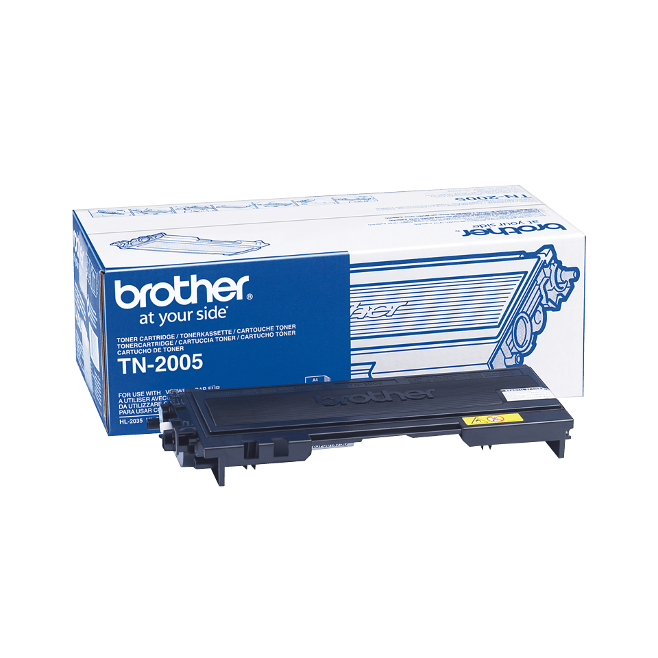 Original Brother TN2005 toner – sort