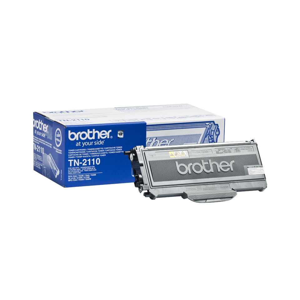 Original Brother TN2110 toner – sort 2