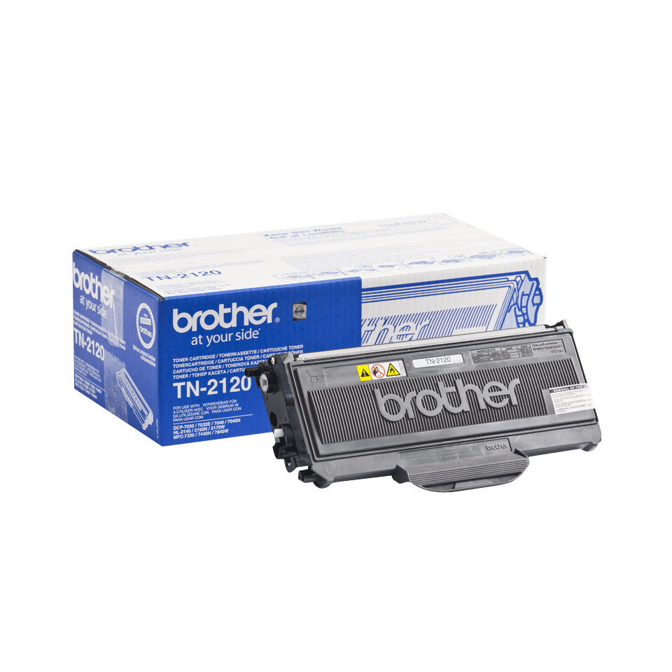 Original Brother TN2120 stor sort toner 2