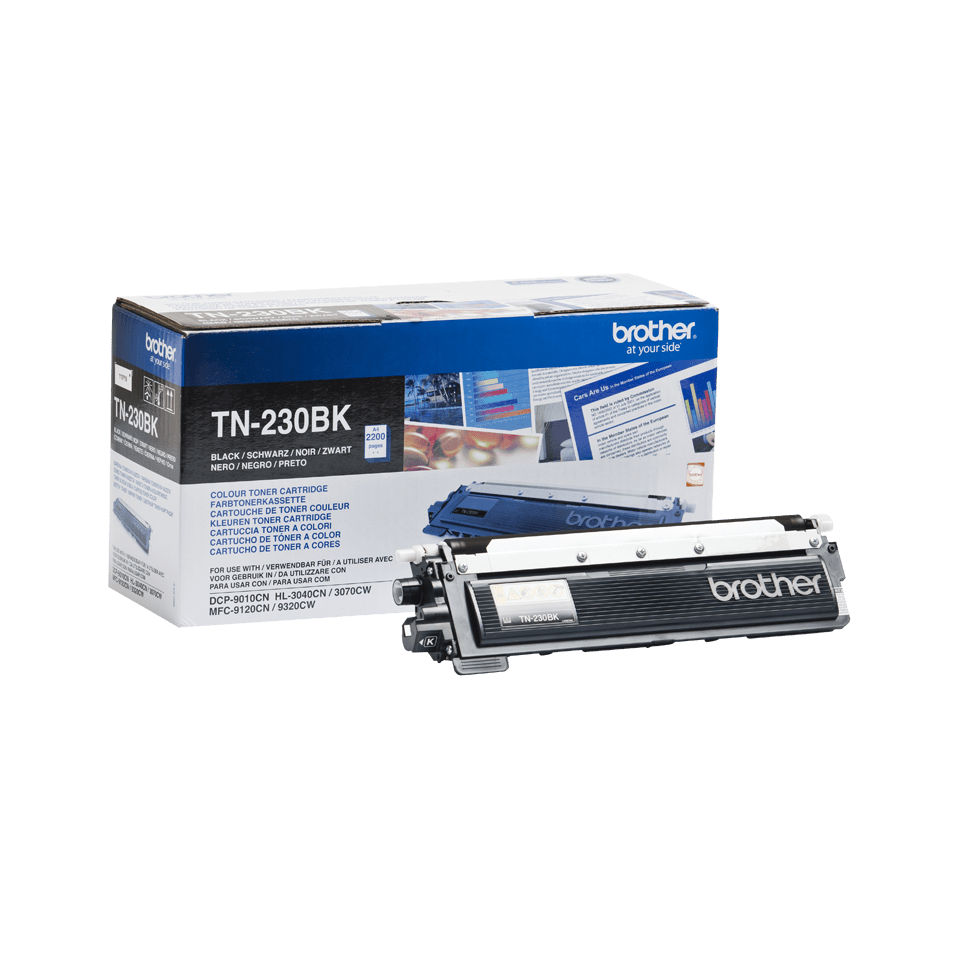 Original Brother TN230BK sort toner