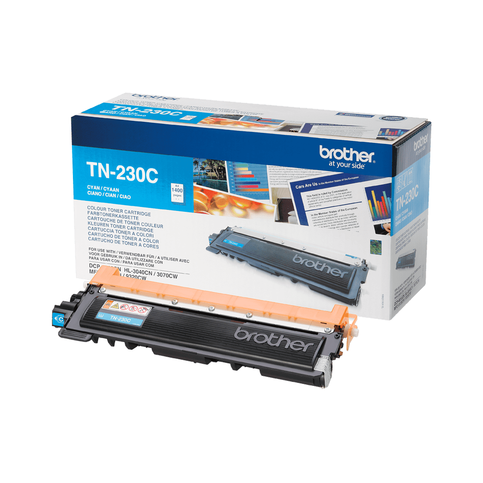 Original Brother TN230C cyan toner