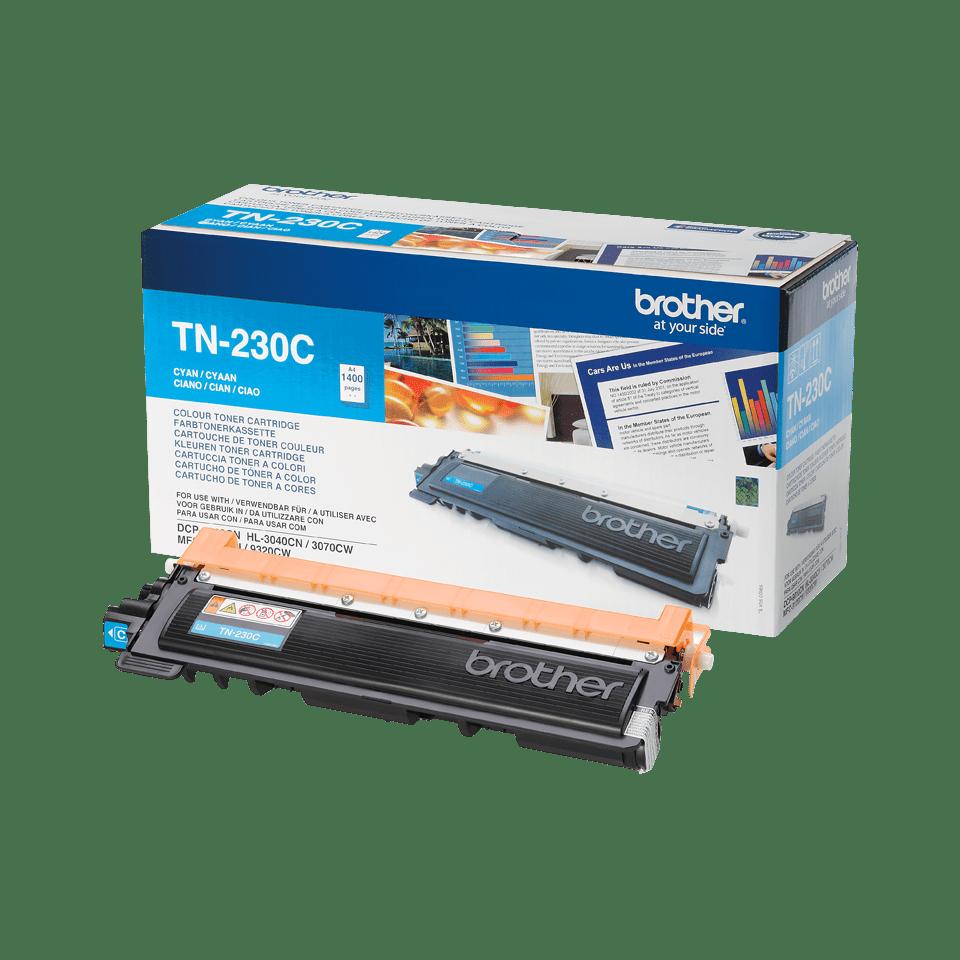 Original Brother TN230C cyan toner 2