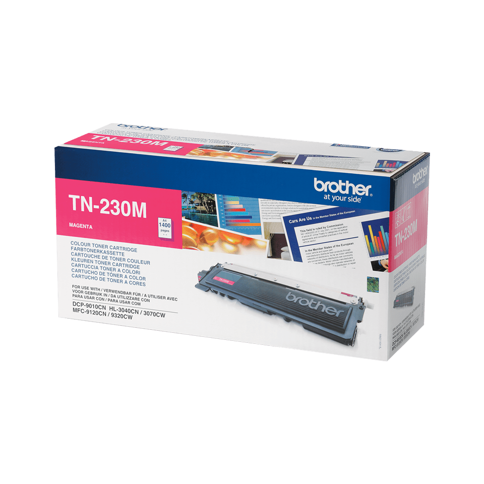 Original Brother TN230M toner – magenta