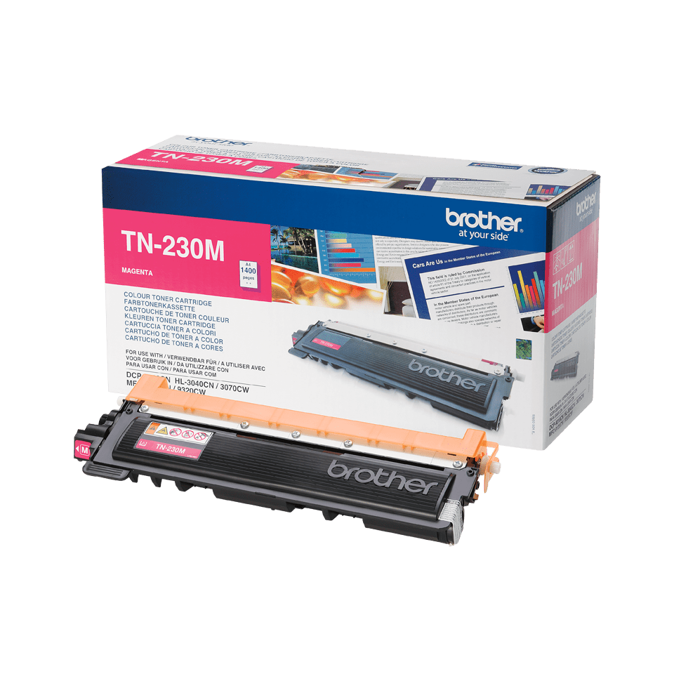 Original Brother TN230M toner – magenta 2