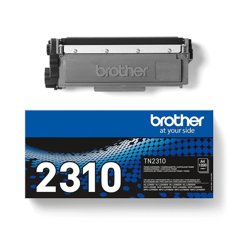 Original Brother TN2310 sort toner 2
