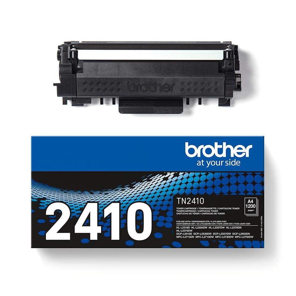 Original Brother TN-2410 sort toner 2