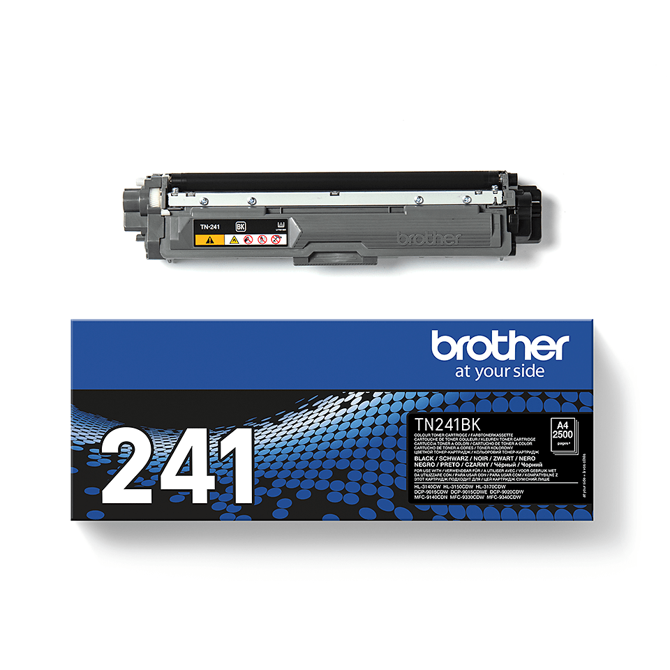 Original Brother TN241BK stor sort toner 2