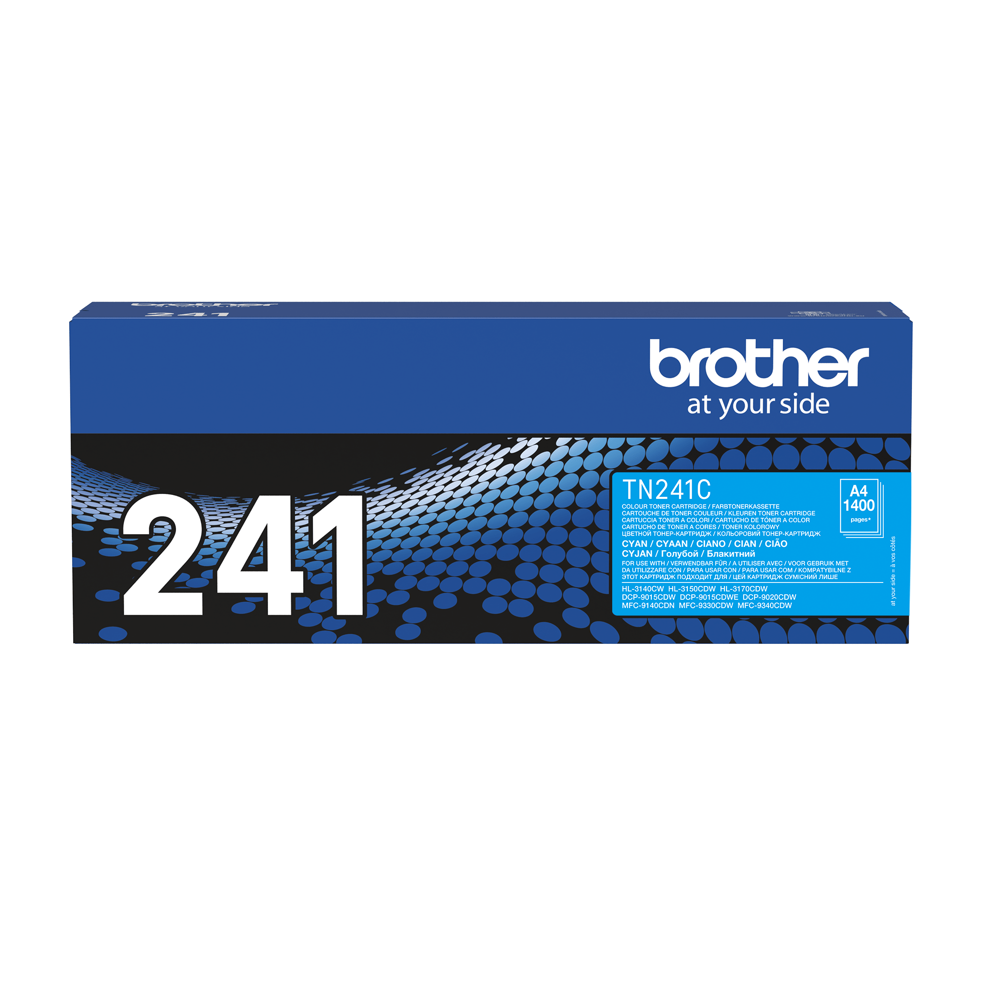 Original Brother TN241C cyan toner