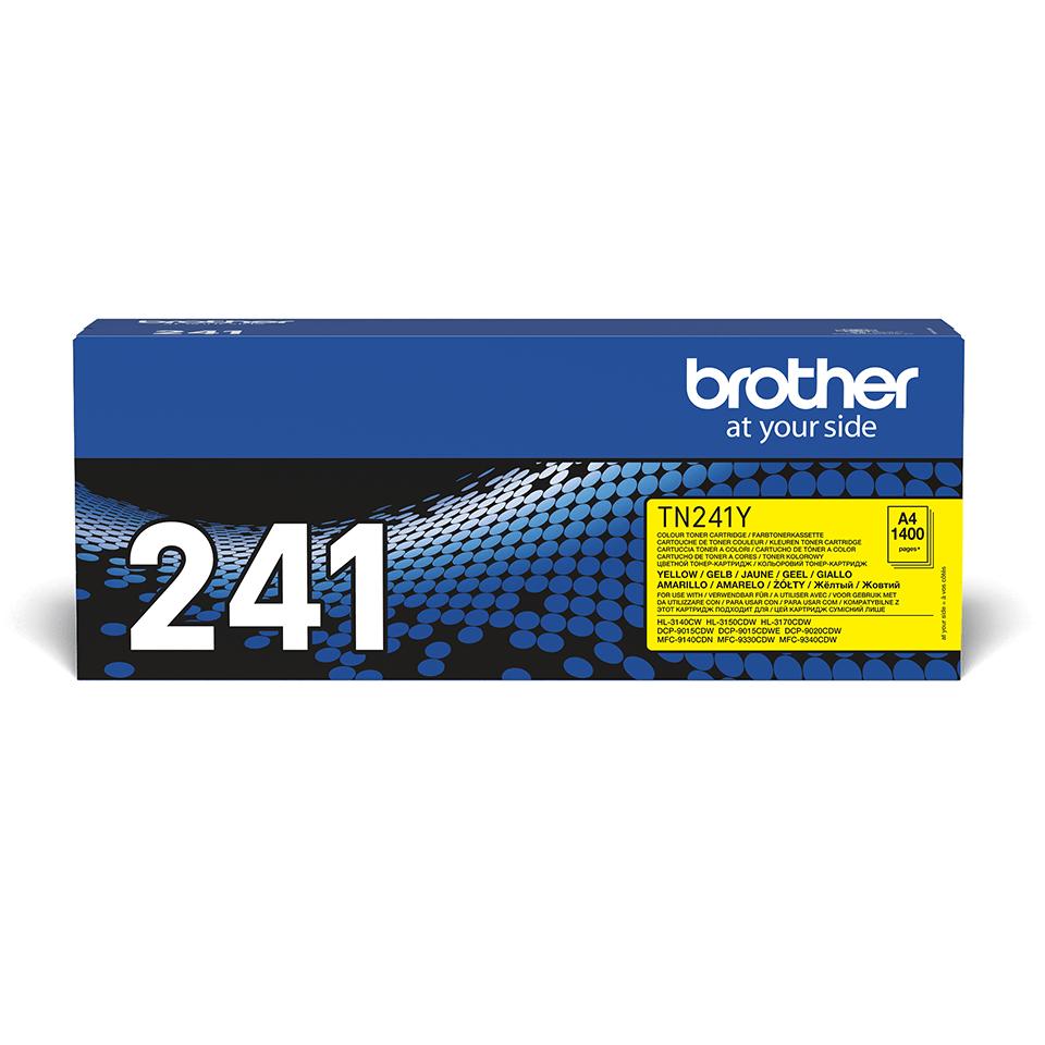 Original Brother TN241Y toner – gul