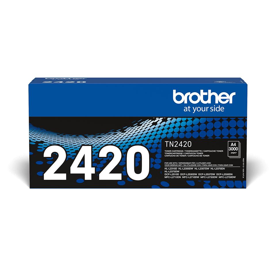 Original Brother TN-2420 sort toner