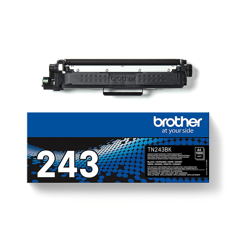 Original Brother TN243BK toner - sort 3