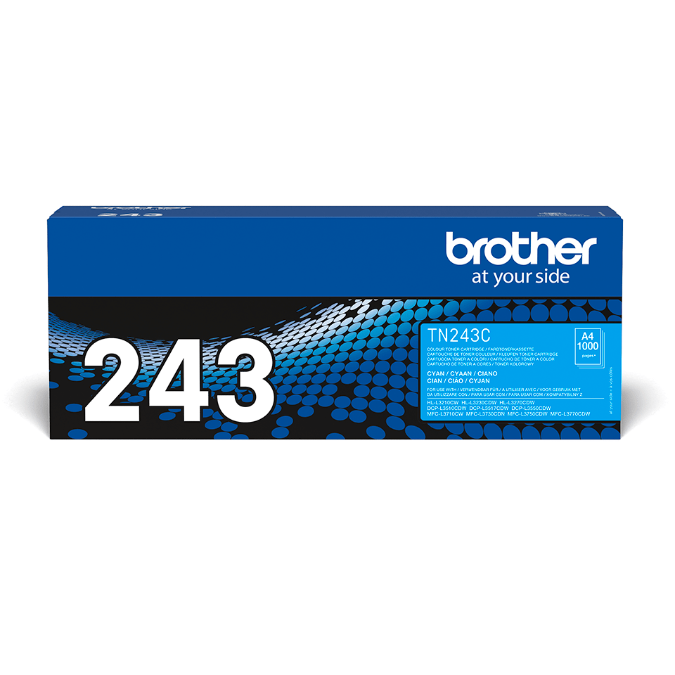 Original Brother TN243C toner - cyan