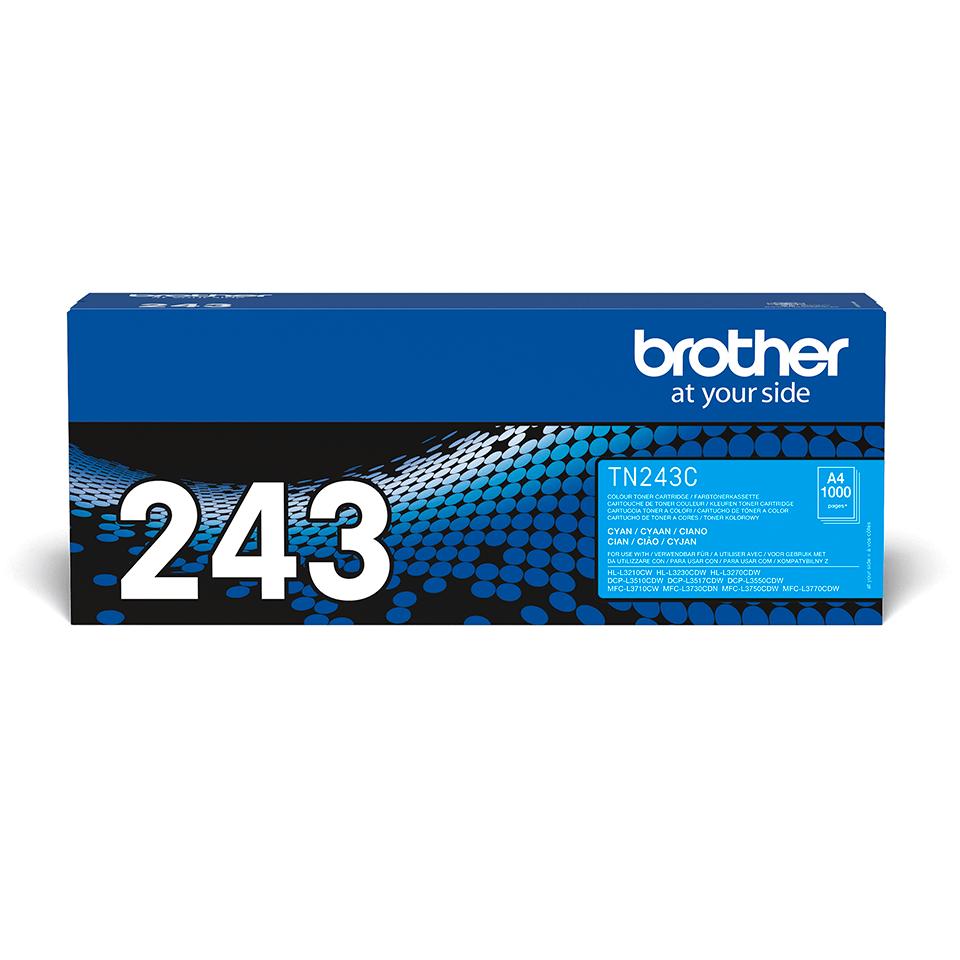 Original Brother TN243C toner - cyan 2