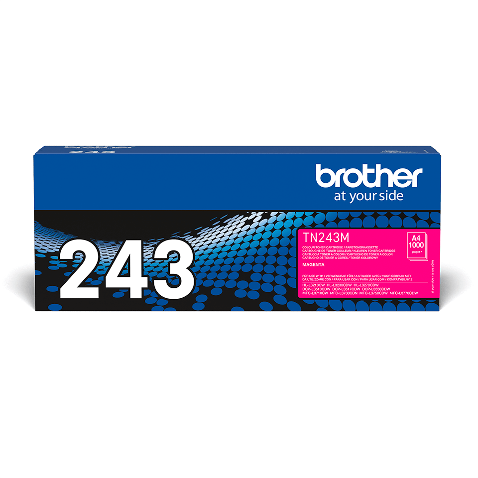 Original Brother TN243M toner - magenta