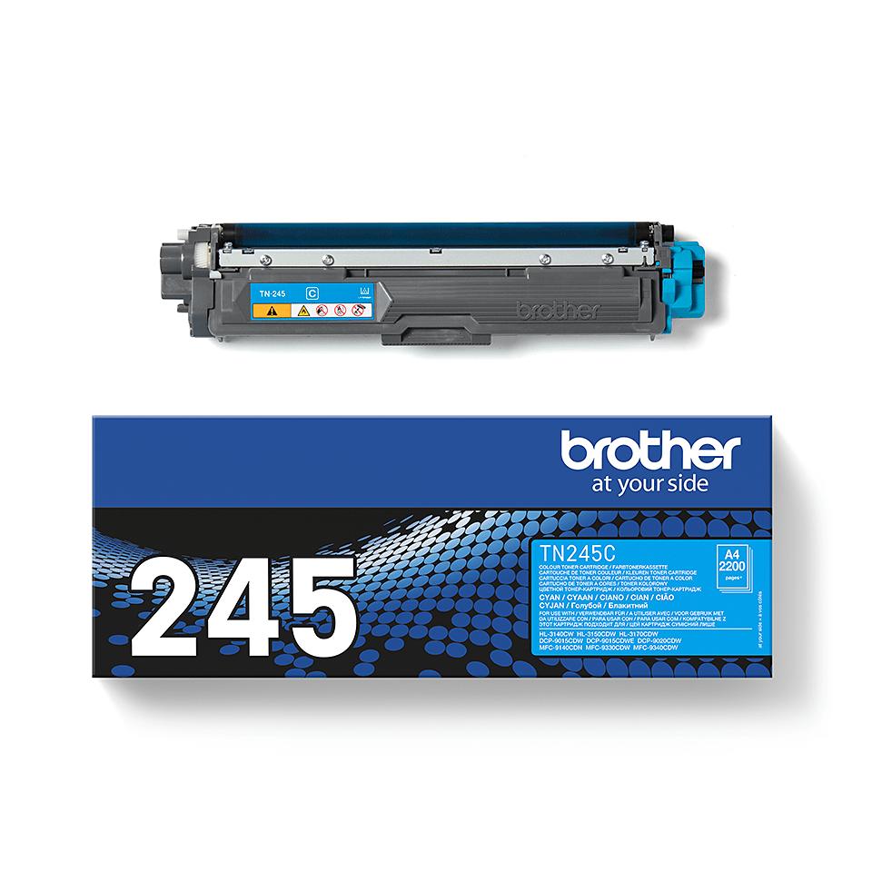 Original Brother TN245C stor cyan toner 2