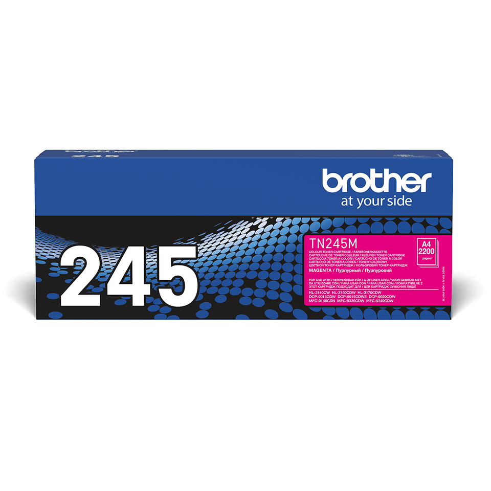 Original Brother TN245M toner – magenta