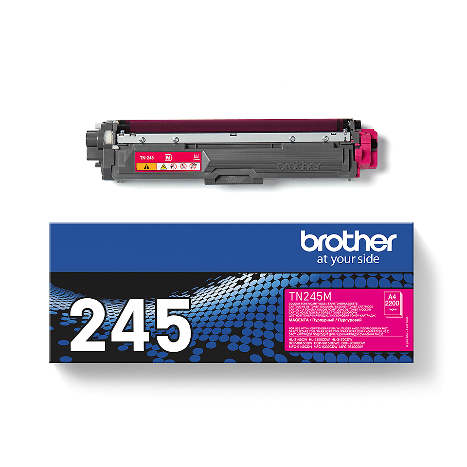 Original Brother TN245M toner – magenta  2