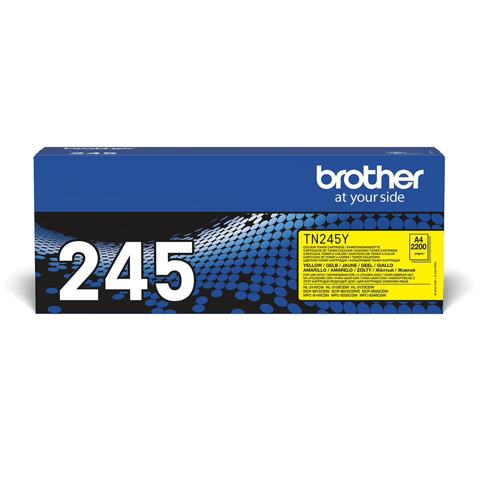 Original Brother TN245Y toner – gul