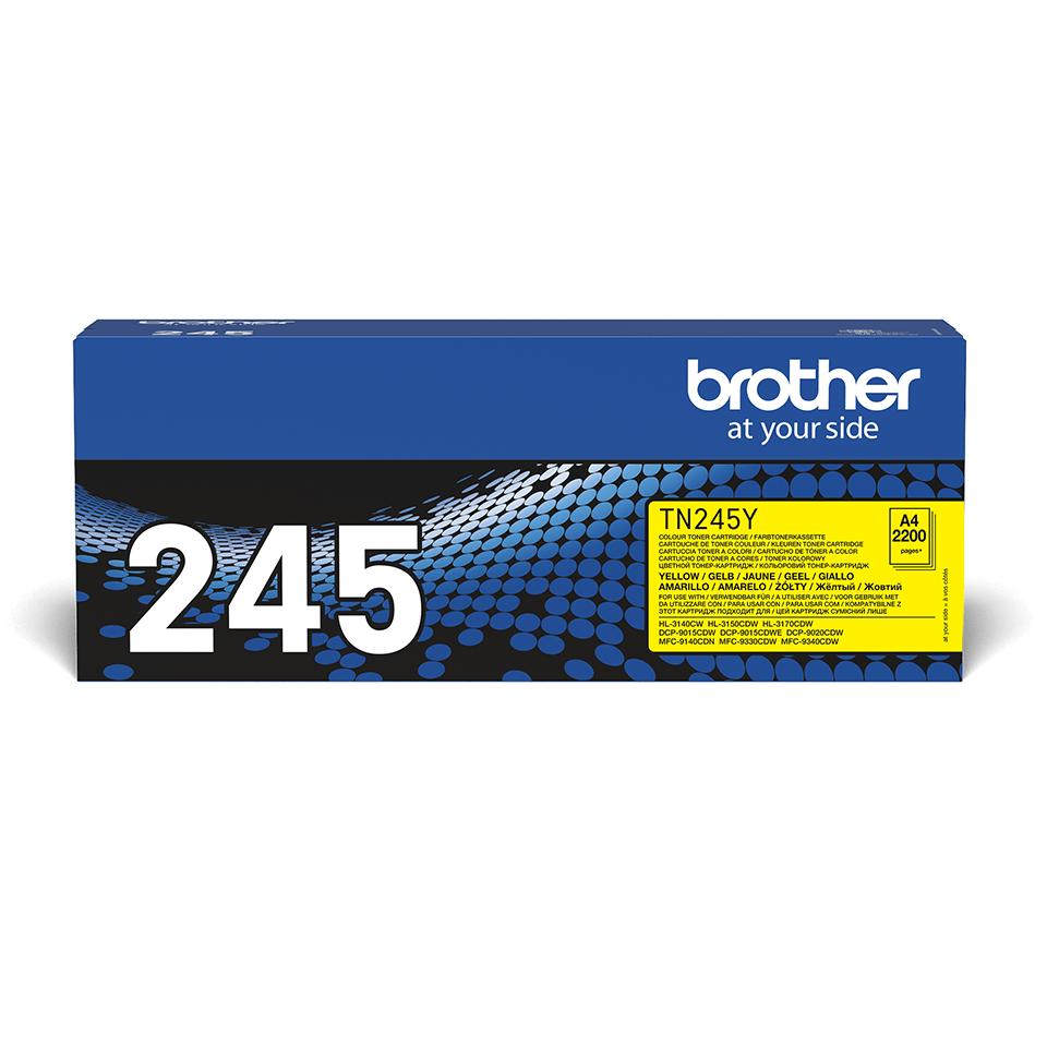 Original Brother TN245Y toner – gul 2