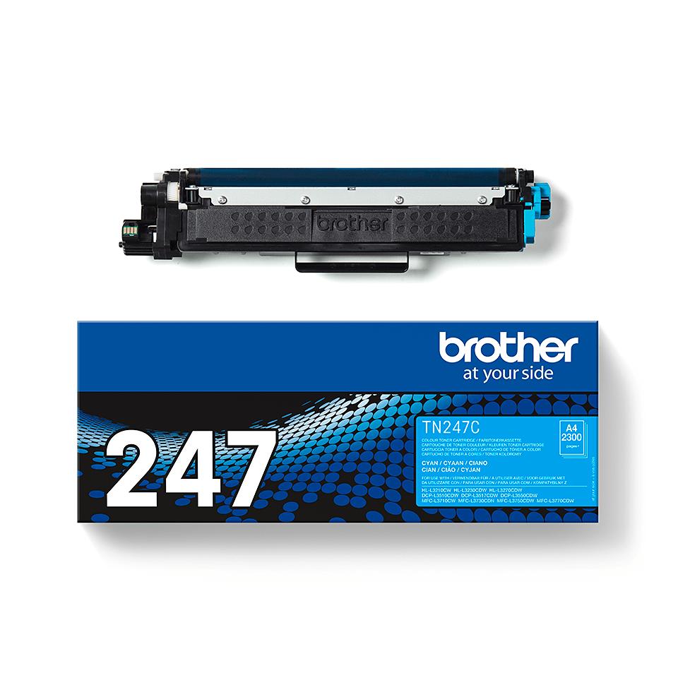 Original Brother TN-247C toner - cyan 3