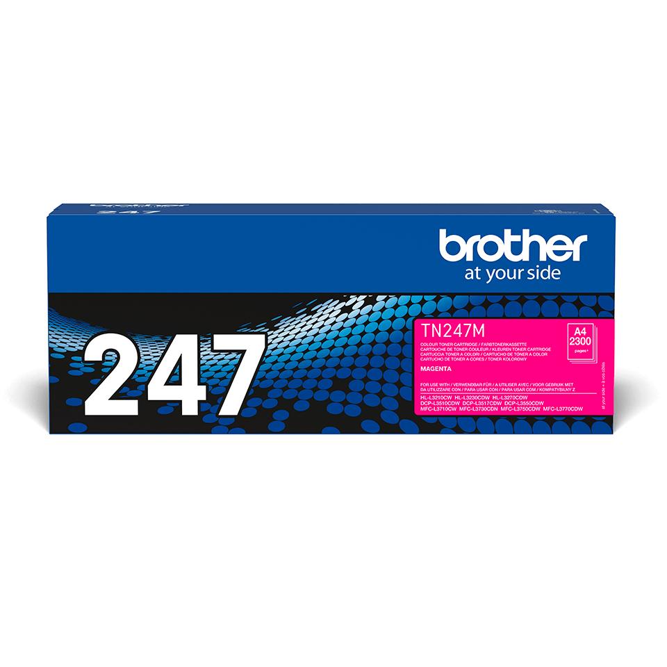 Original Brother TN247M toner - magenta