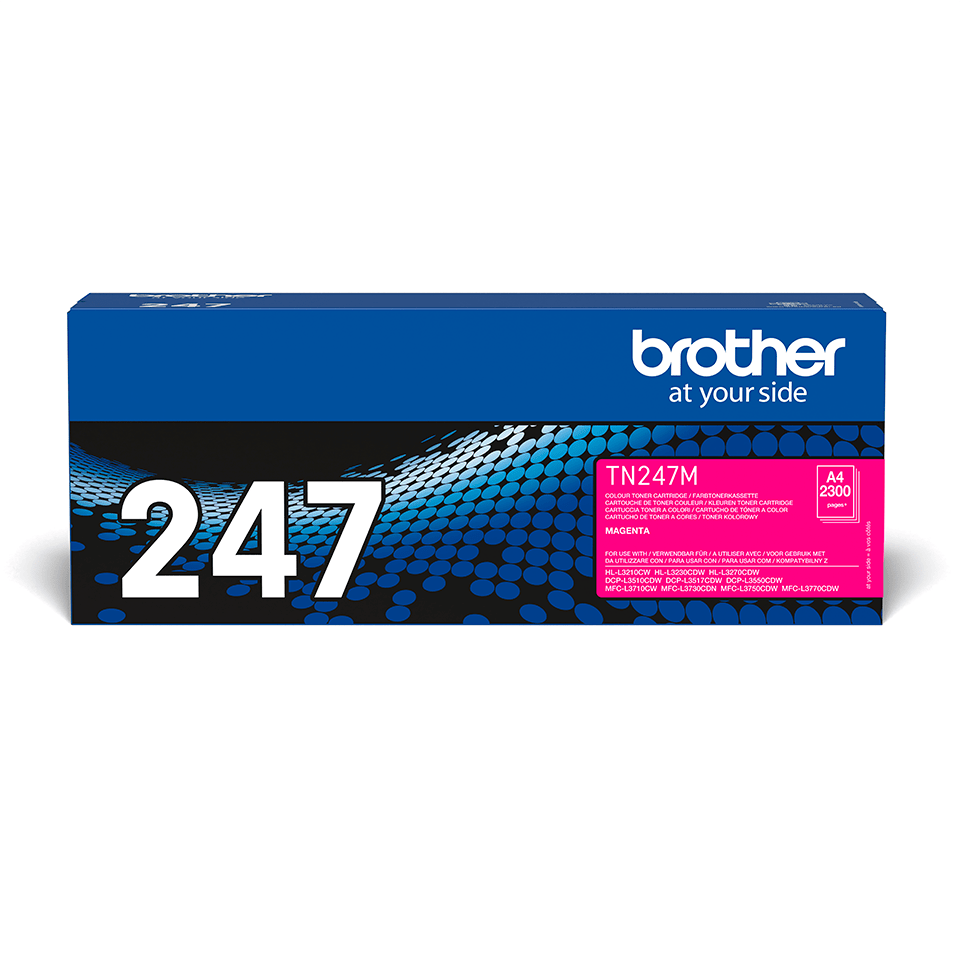 Original Brother TN247M toner - magenta