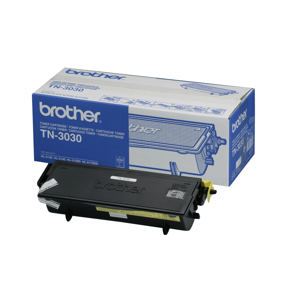 Original Brother TN3030 stor toner – sort