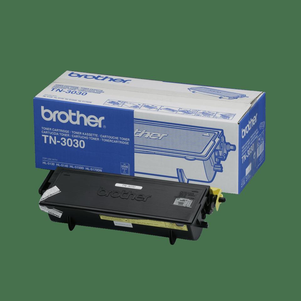Original Brother TN3030 stor toner – sort