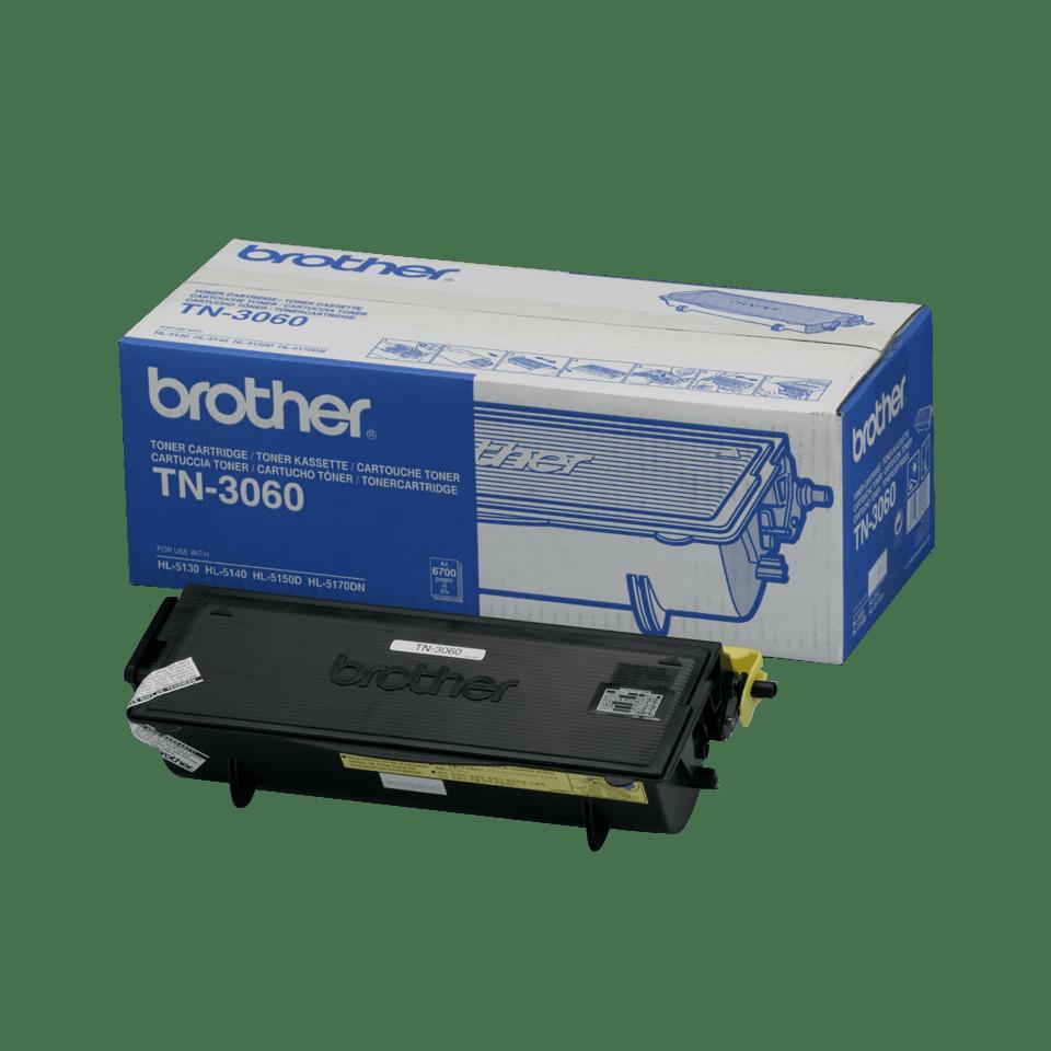 Original Brother TN3060 stor toner – sort