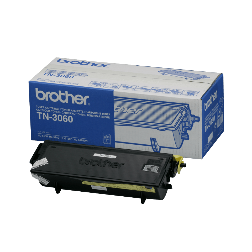 Original Brother TN3060 stor toner – sort
