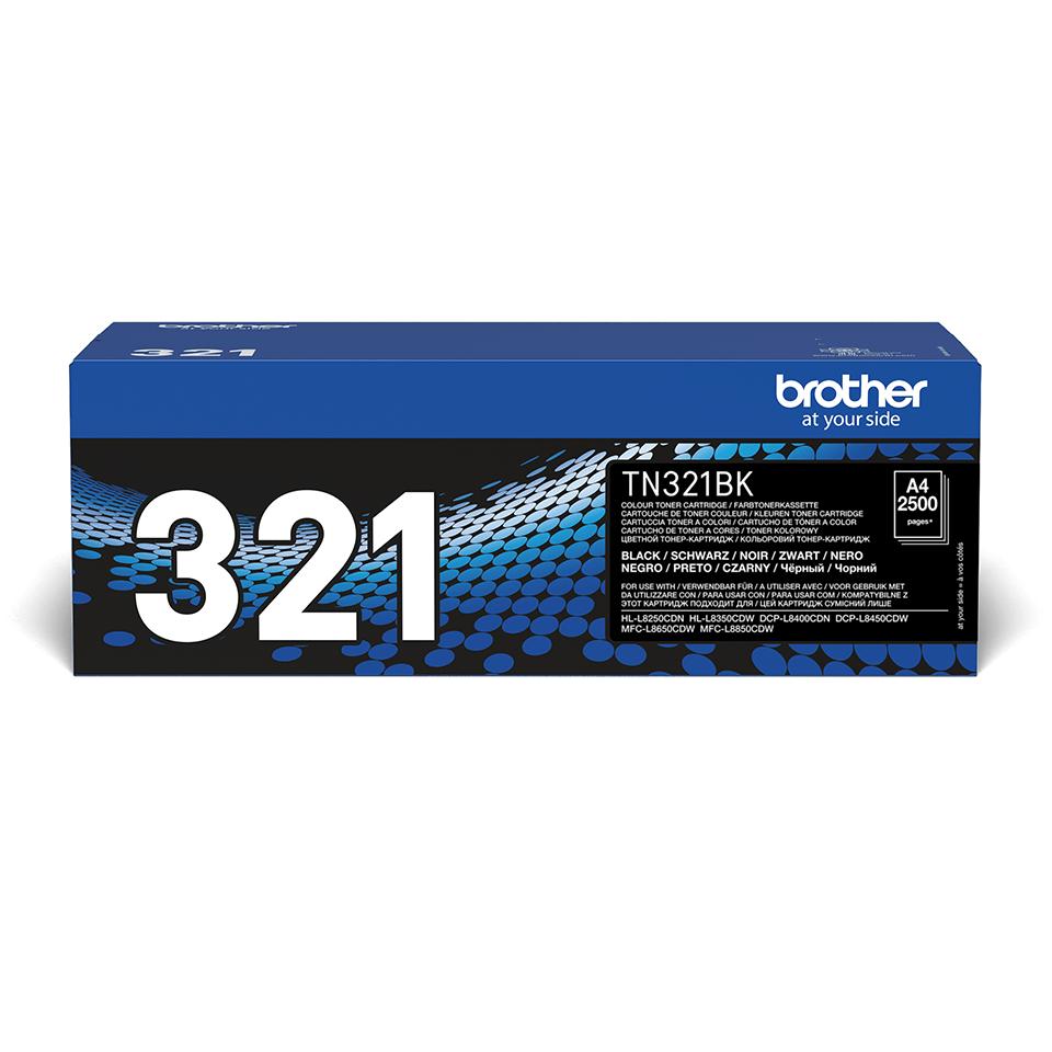 Original Brother TN321BK toner – sort