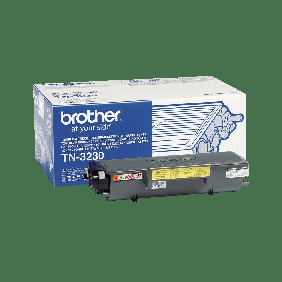Original Brother TN3230 sort toner