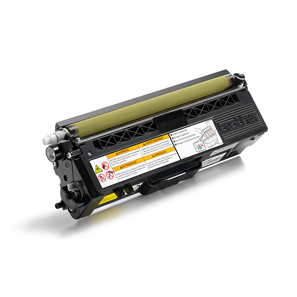 Original Brother TN325Y toner – gul