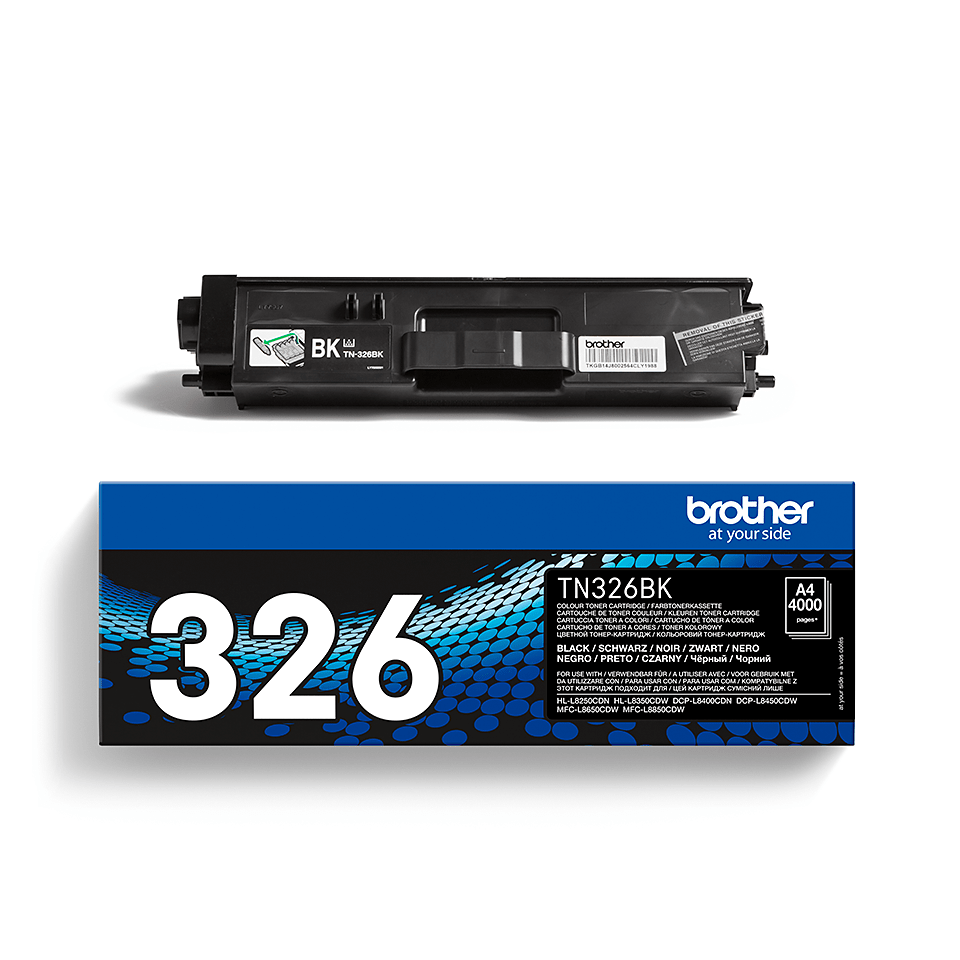 Original Brother TN326BK stor sort toner 2