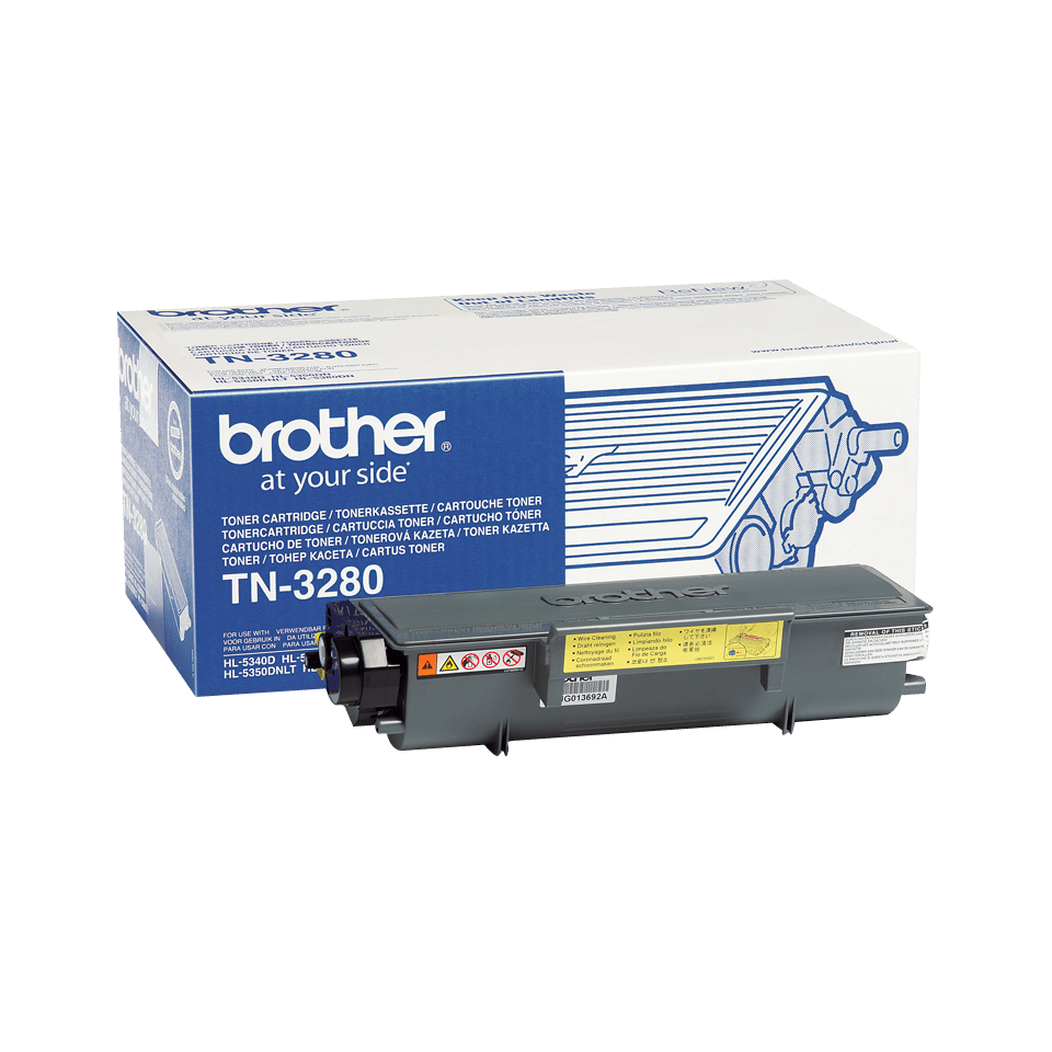 Original Brother TN3280 stor sort toner
