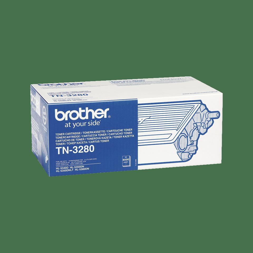 Original Brother TN3280 stor sort toner 2