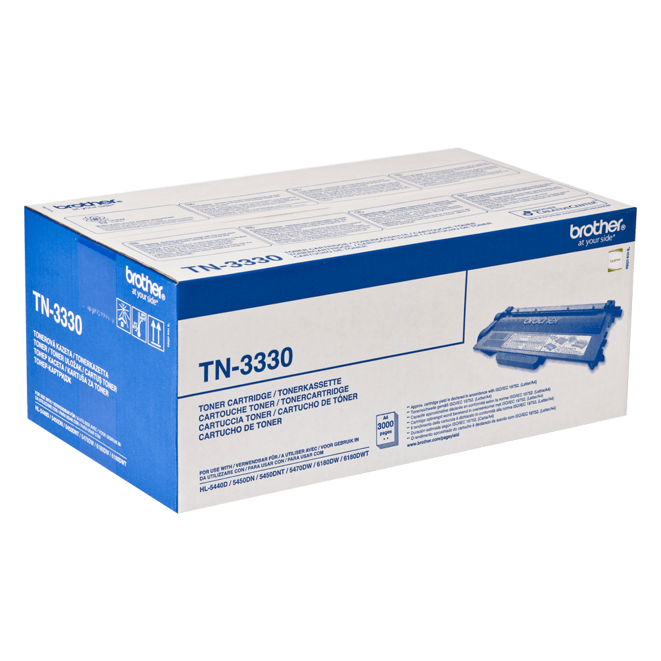 Original Brother TN3330 toner – sort