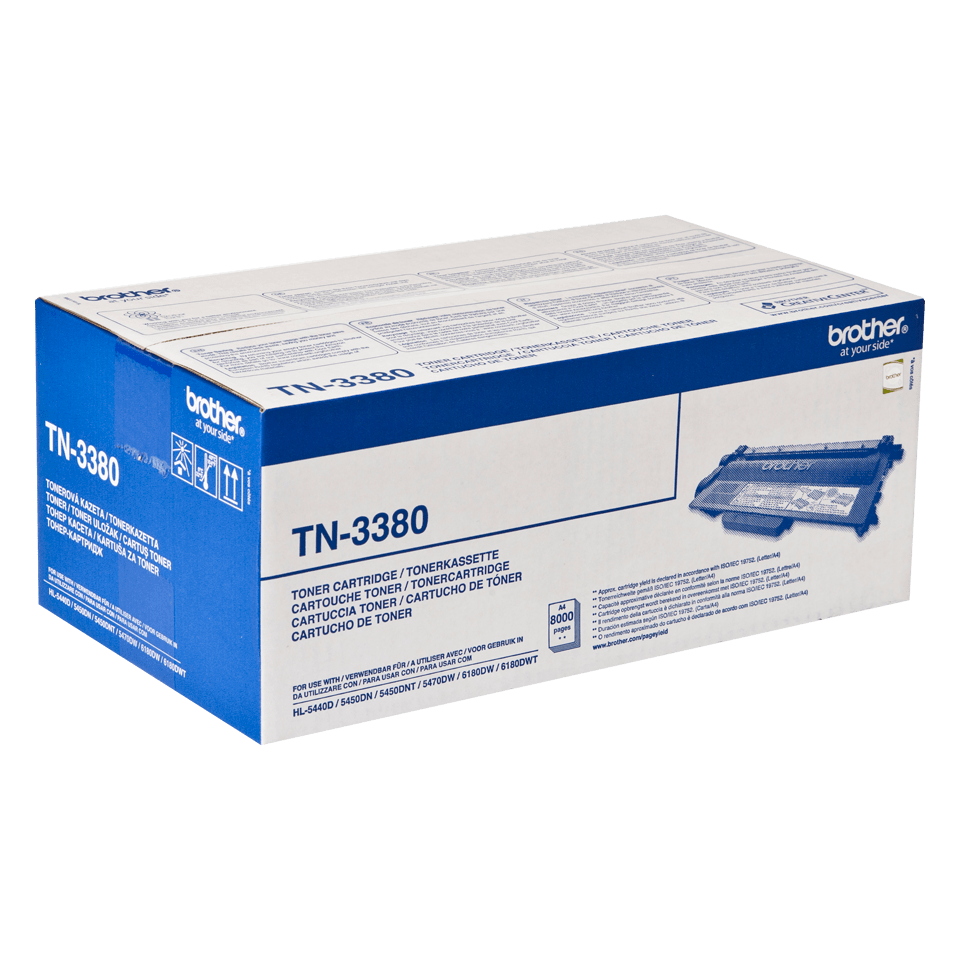 Original Brother TN3380 stor sort toner