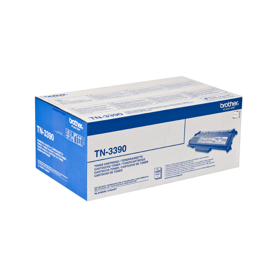 Original Brother TN3390 stor toner – sort 2