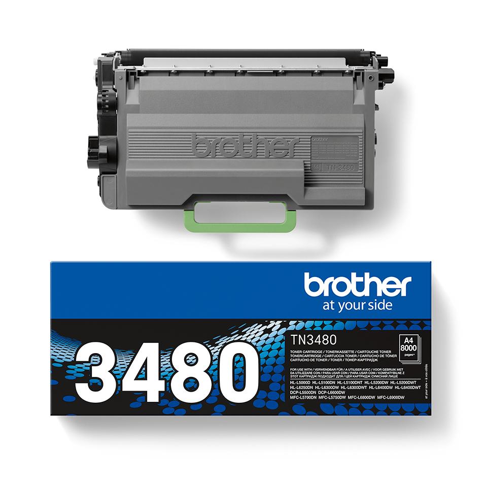 Original Brother TN3480 toner – sort 2