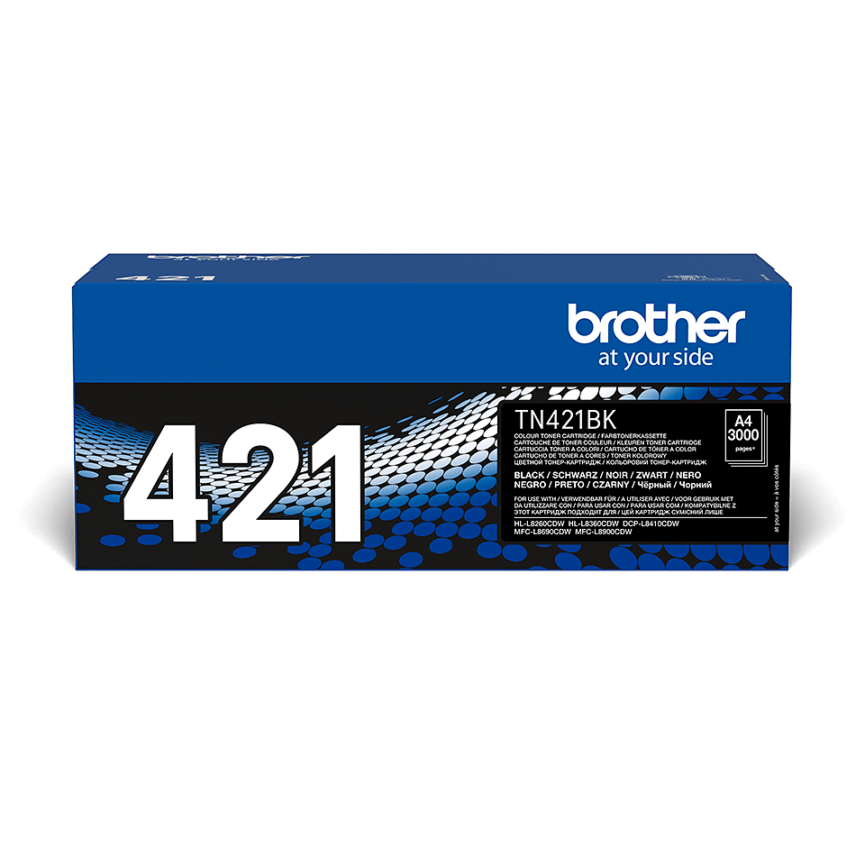 Brother TN-421BK toner - sort