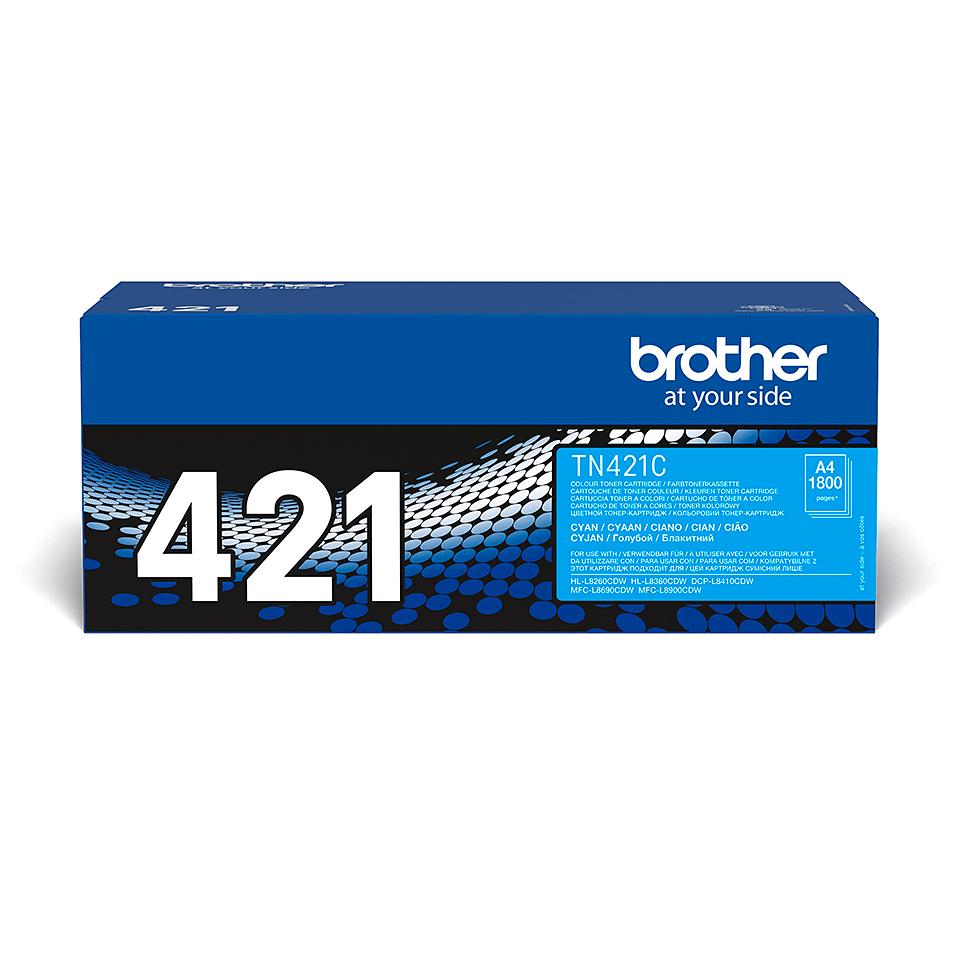 Brother TN-421C toner - cyan 1