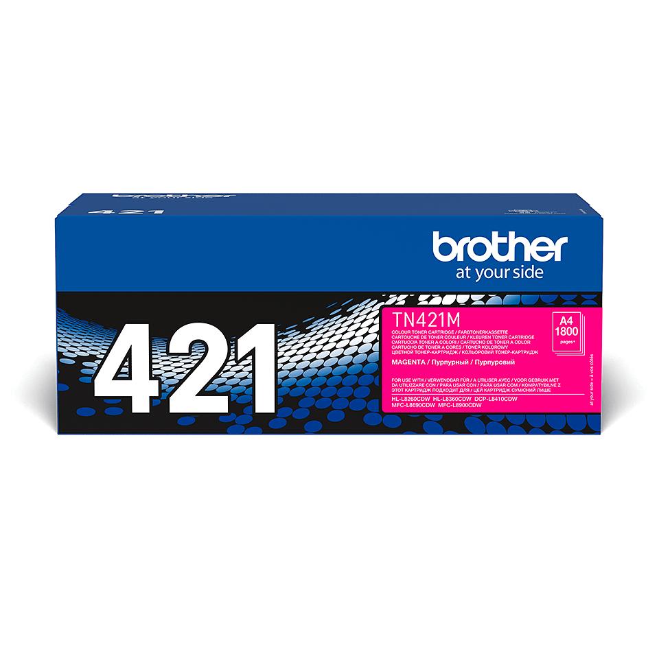 Original Brother TN421M toner – magenta