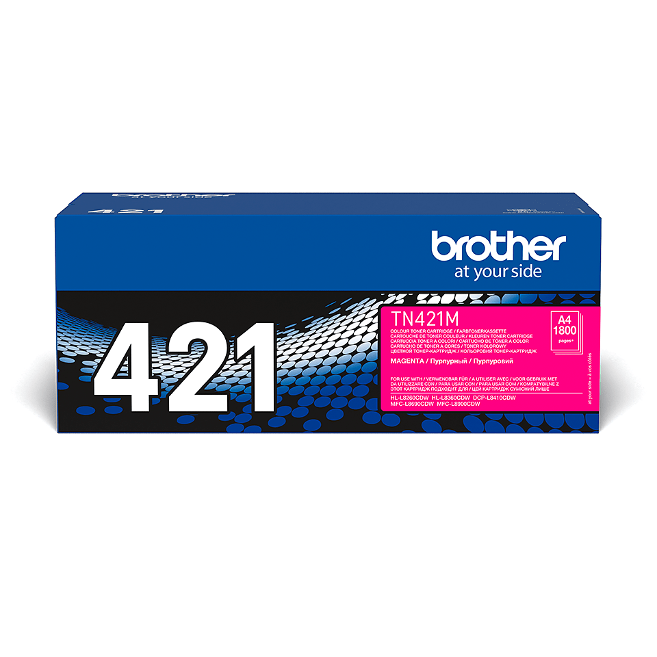 Original Brother TN421M toner – magenta 2