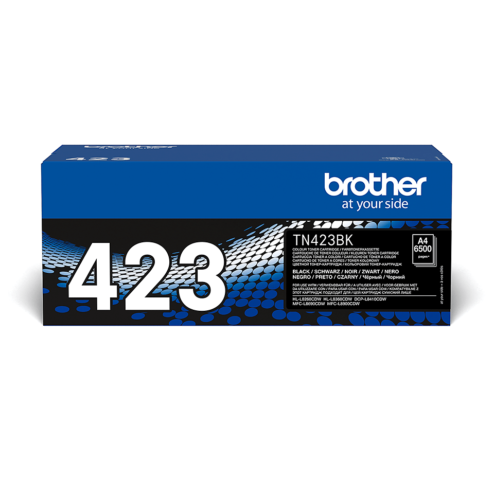 Original Brother TN423BK toner – sort