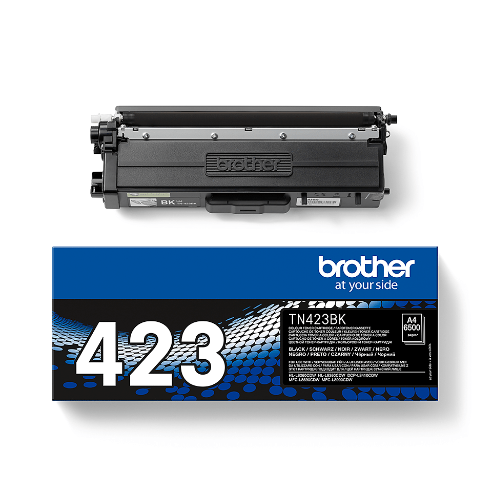 Brother TN-423BK toner - sort 1