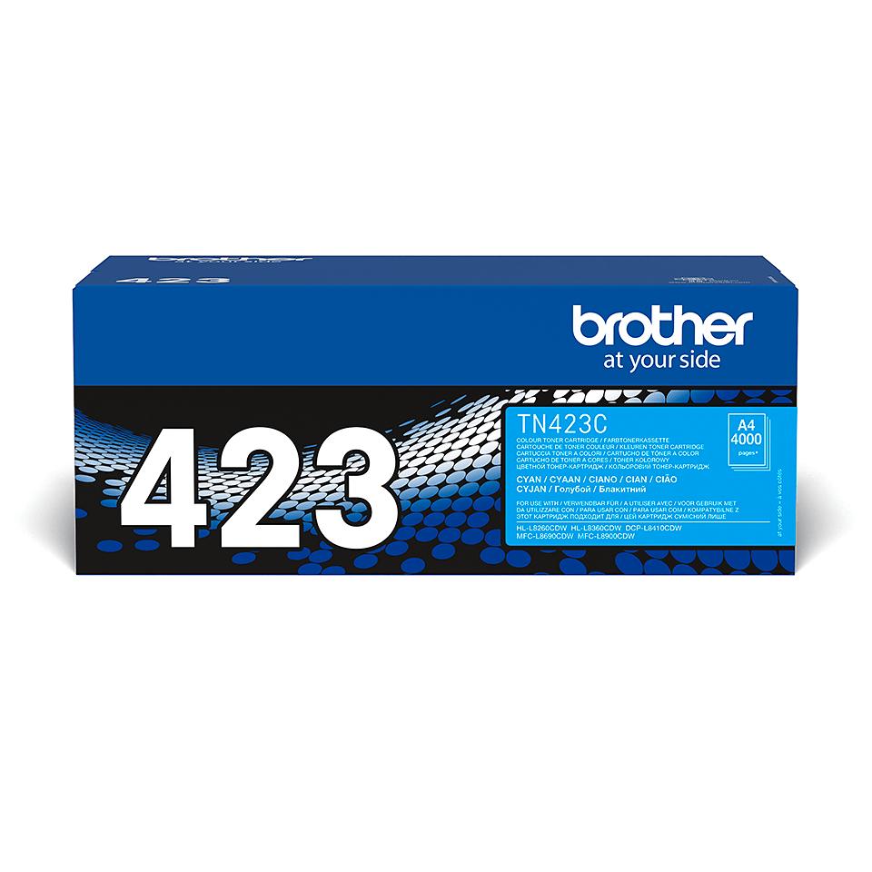 Original Brother TN423C toner – cyan