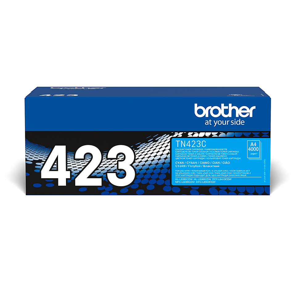 Original Brother TN423C toner – cyan