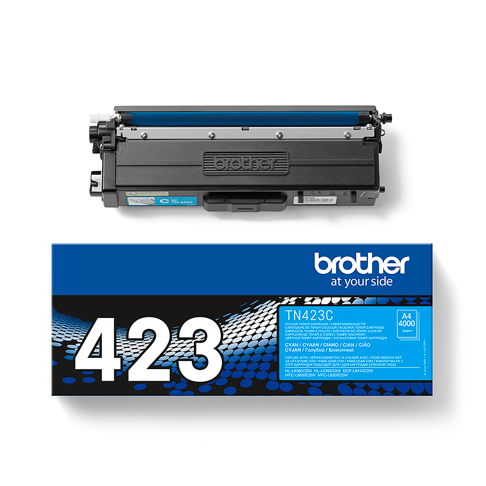 Original Brother TN423C toner – cyan 2