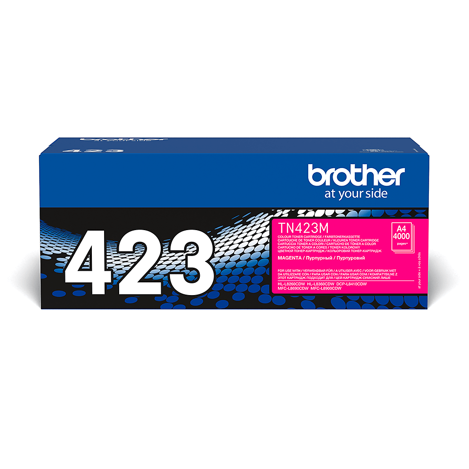 Original Brother TN423M toner – magenta